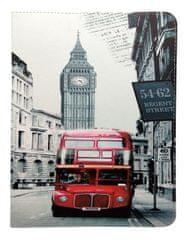 Forever Knížkové pouzdro (Fashion) London univerzální 9-10″ GSM098874