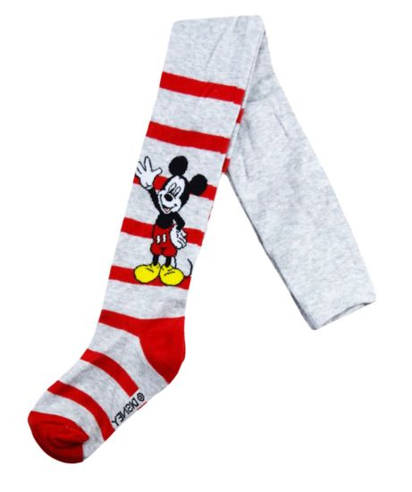 "Eplusm Fantovske hlačne nogavice ""Mickey Mouse"" - siva"