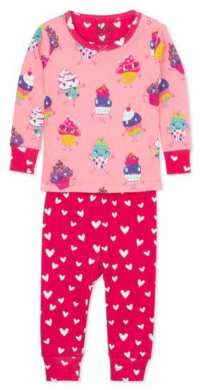 Hatley dívčí pyžamo z organické bavlny Dancing Cupcakes S20CCI1237