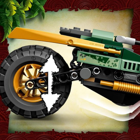 LEGO Ninjago 71745 Lloydov motor za v džunglo