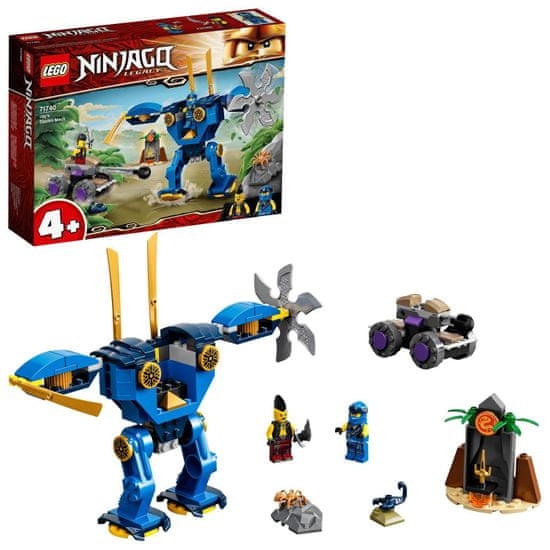 LEGO Ninjago 71740 Jay elektrobotja