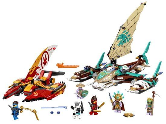 LEGO Ninjago 71748 Spopad katamaranov na morju