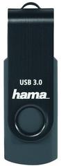 HAMA Flash Drive Rotate 256GB, tmavomodrá (182466)