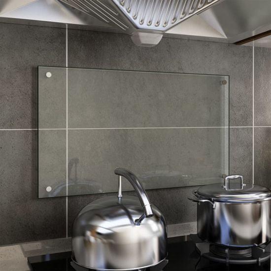 shumee Kuchyňský panel průhledný 70 x 40 cm tvrzené sklo