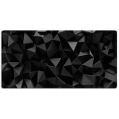 Kobercomat Ochranná podložka na stůl abstrakce black 120x60cm