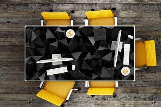 Kobercomat Ochranná podložka na stôl abstrakcie black