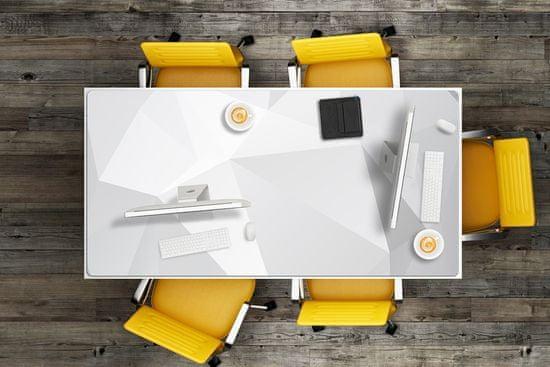 Kobercomat Ochranná podložka na stôl Abstraction White