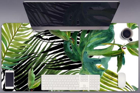 Kobercomat Ochranná podložka na stôl tropické listy