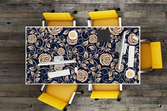 Kobercomat Pracovný podložka na stôl Klasické zlaté ruže