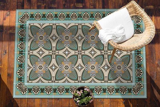 kobercomat.sk terasový koberec Vzor pávích pier 150