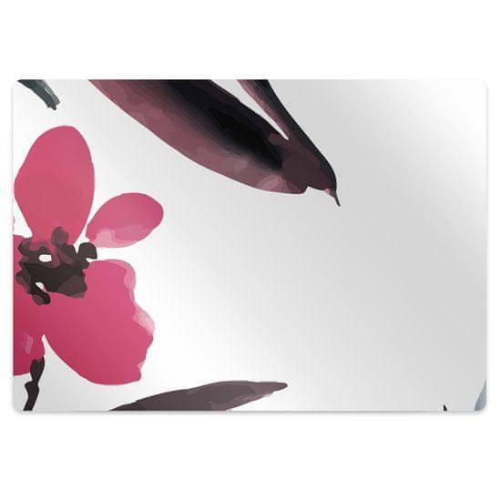 Kobercomat Podložka pod kancelársku stoličku krásne kvety