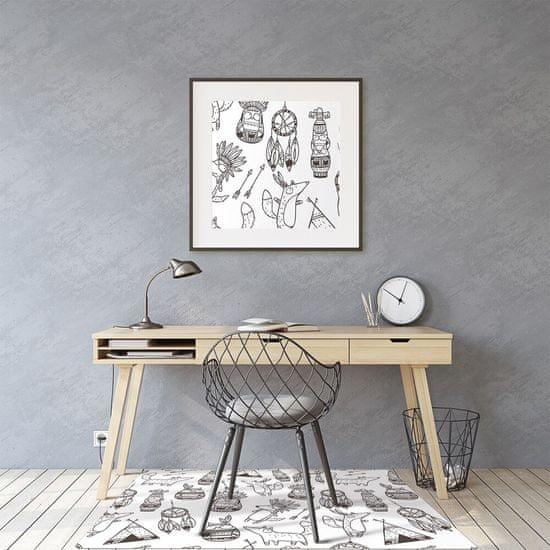 Kobercomat Ochranná podložka pod stoličku kreslený film