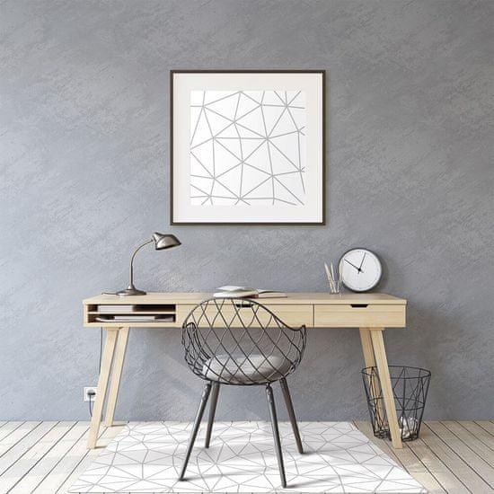 Kobercomat Podložka pod kancelársku stoličku škandinávsky štýl