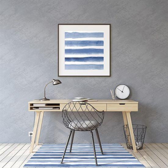 kobercomat.sk Podložka pod kolieskovú stoličku akvarel pruhy