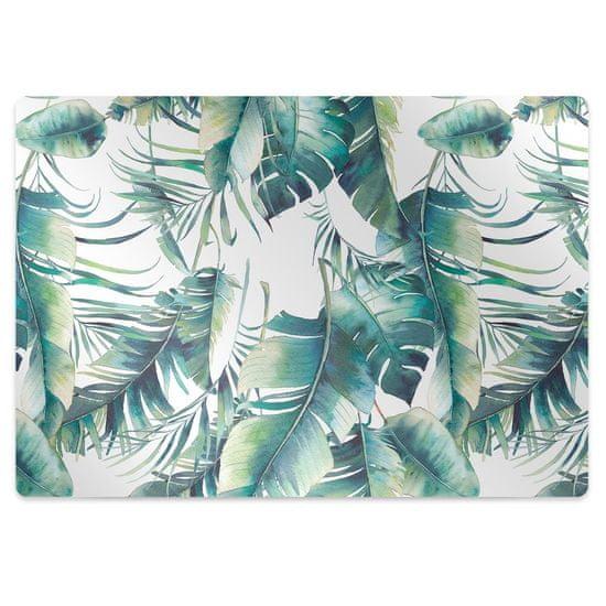 kobercomat.sk Ochranná podložka pod stoličku palmové listy