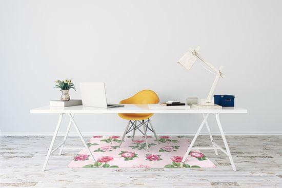 Kobercomat Ochranná podložka pod stoličku Ruže s tŕňmi