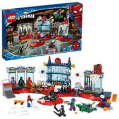 LEGO Super Heroes 76175 Napad na pajkov brlog