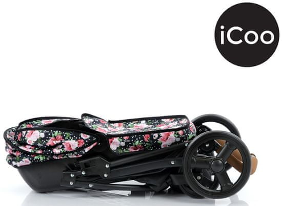 Hauck Boston 2v1 Dotty Rose voziček za lutke, kombiniran