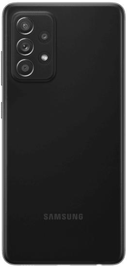 Samsung Galaxy A52 5G mobilni telefon, 6 GB/128 GB, črn