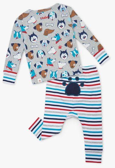 Hatley chlapecké pyžamo z organické bavlny Cute Pups S21BPI1253