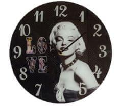 Dekko Stenska ura, Love, na stekleni podlagi