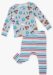 Hatley Cute Pups S21BPI1253 pidžama za dječake od organskog pamuka siva, 58-69, siva