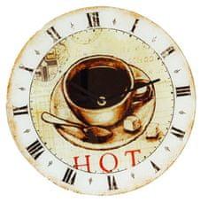 Dekko Stenska ura, Kava, na stekleni podlagi