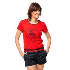 Heavy Tools Ženska majica Medira rdeča C4S21178RE (Velikost S)