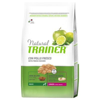 TRAINER Natural Maxi Puppy hrana za štenad, s piletinom, 12 kg
