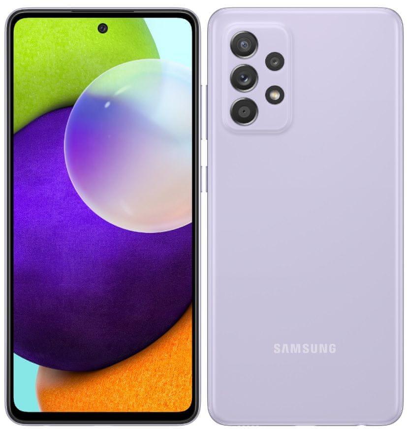 Samsung Galaxy A52, 6GB/128GB, Lavender - rozbaleno
