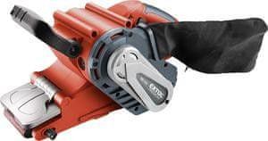 Extol Premium Brúska pásová, príkon 1010W, rýchl. pásu 120-380m/min, brúsny pás 533x76mm