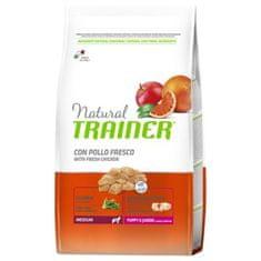 TRAINER Natural Med. Puppy&Jun friss baromfi, 12kg