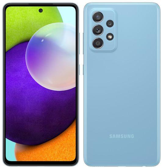 Samsung Galaxy A52 mobilni telefon, 6 GB/128 GB, moder