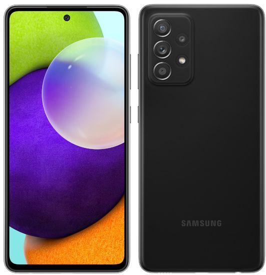Samsung Galaxy A52 mobilni telefon, 6 GB/128 GB, črn