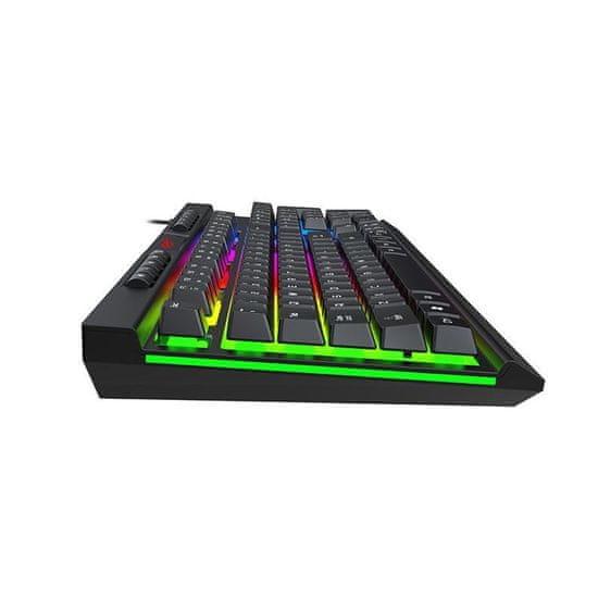 Havit KB500L Gamenote herná klávesnica, čierna