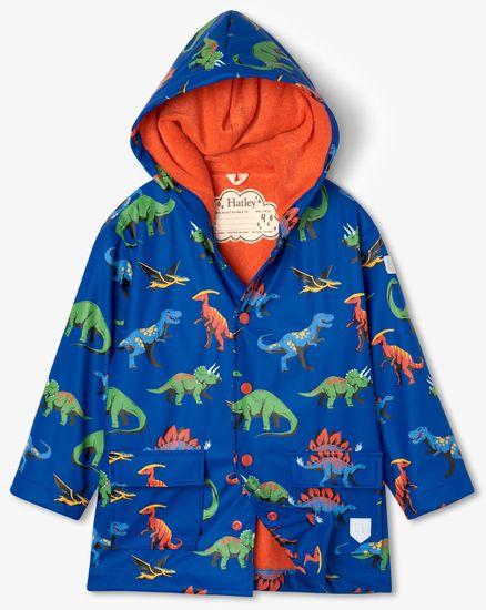 Hatley chlapčenská nepremokavá bunda do dažďa Friendly Dinos S21DIK1336