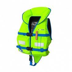Elements Gear Dětská záchranná vesta BABY PLUS zelená S (3-5 let) reflex zelená