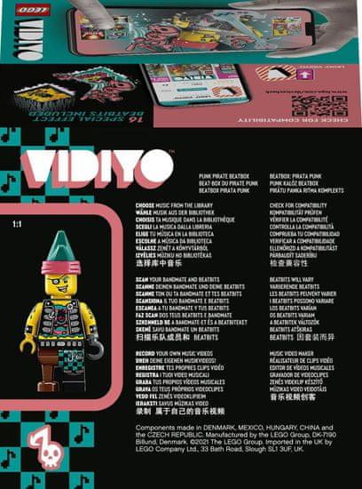 LEGO VIDIYO™ 43103 Punk Pirate BeatBox