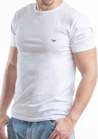 Emporio Armani Pánské tričko 111267 CC717 bílá