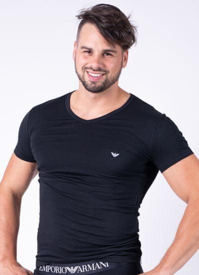 Emporio Armani Pánské tričko 111512 CC717 černá