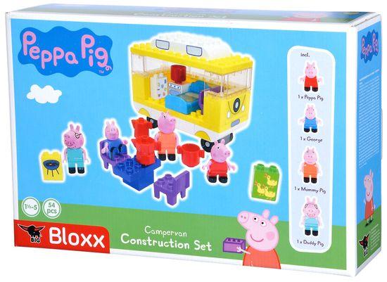 BIG PlayBig Bloxx Peppa Pig avtodom z dodatki