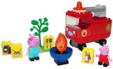 BIG PlayBig Bloxx Peppa Pig gasilski avto z dodatki