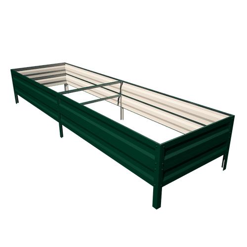 Primaterra Vyvýšený záhon AGRO-40 65x300x40 cm GREEN pozinkovaný