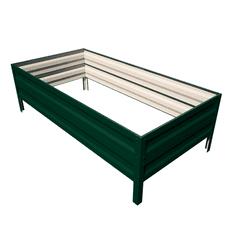 Primaterra Vyvýšený záhon GARDEN-40 100x200x40 cm zelený pozinkovaný