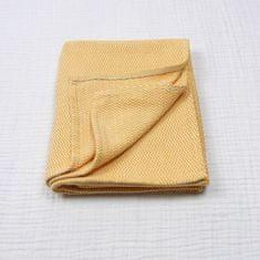 TrendUpcz Luxusní dětská deka - hořčicová