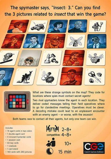 CGE igra s kartami Codenames Pictures angleška izdaja