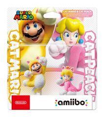 Nintendo Amiibo Cat Mario & Cat Peach Double Pack igralna figura (Super Mario)