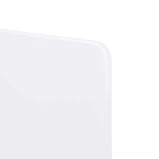 INFRADŮM Skleněný elektrický sušák na ručníky SWGT-RA 800 ULTRA BÍLÁ
