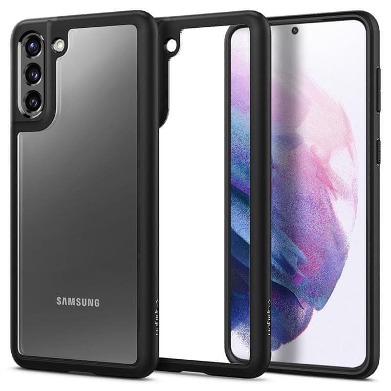 Spigen Ochranný kryt Ultra Hybrid pro Samsung Galaxy S21 Plus ACS02388, černý