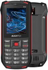 Aligator R40 eXtremo, black/red